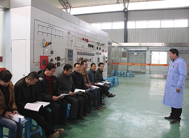 全省开展第五期亚博老虎机网页版特有工种职业技能培训